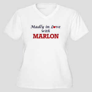 Madly in love with Marlon Plus Size T-Shirt