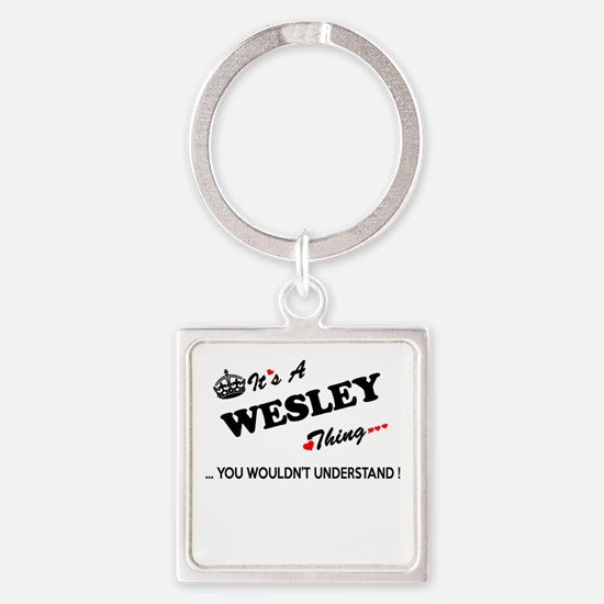 WESLEY thing, you wouldn't understand Keychains