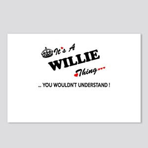 WILLIE thing, you wouldn' Postcards (Package of 8)