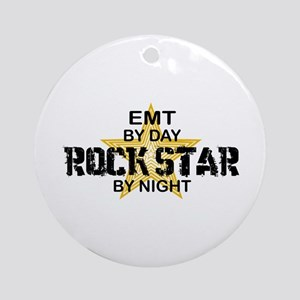 EMT RockStar by Night Ornament (Round)