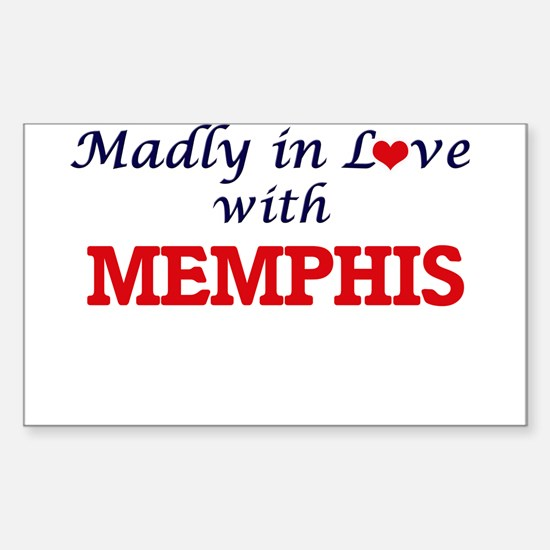 Madly in love with Memphis Decal