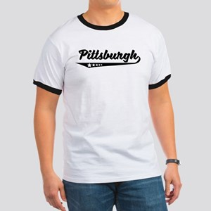 Pittsburgh PA Retro Logo T-Shirt
