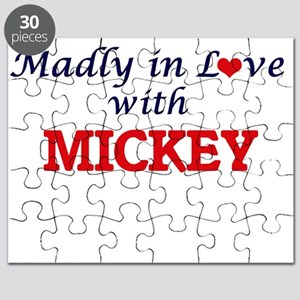 Madly in love with Mickey Puzzle