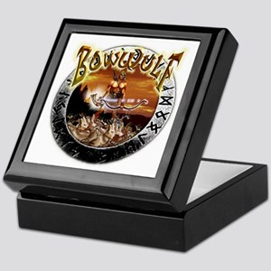 BowWulf Beowulf humor Keepsake Box