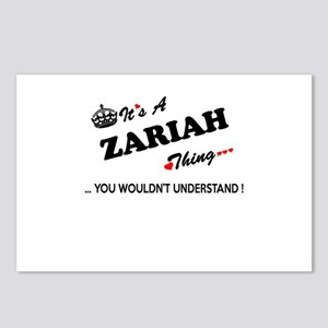ZARIAH thing, you wouldn' Postcards (Package of 8)