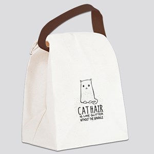 Cat Hair is like Glitter without the sparkle Canva