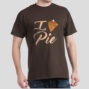 I Love Pie Dark T-Shirt