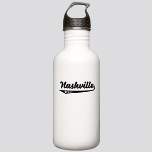Nashville TN Retro Logo Water Bottle
