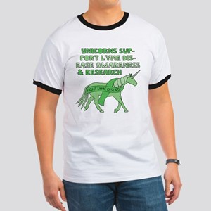 Unicorns Support Lyme Disease Awareness T-Shirt