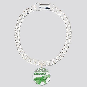Unicorns Support Lyme Di Charm Bracelet, One Charm