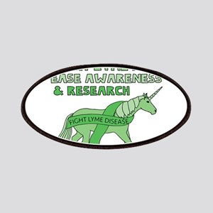 Unicorns Support Lyme Disease Awareness Patch
