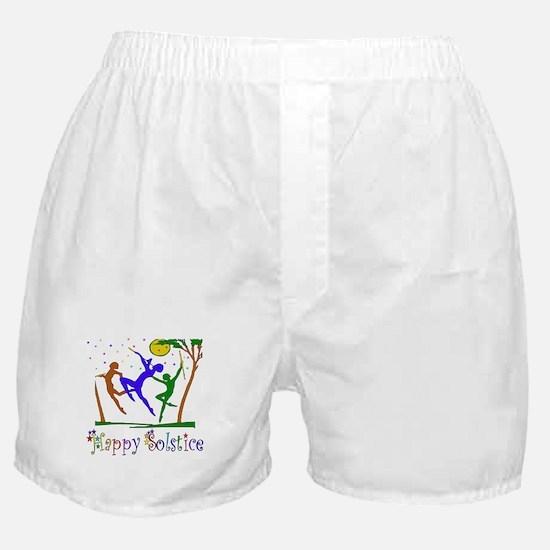 Winter Solstice Dancers Boxer Shorts