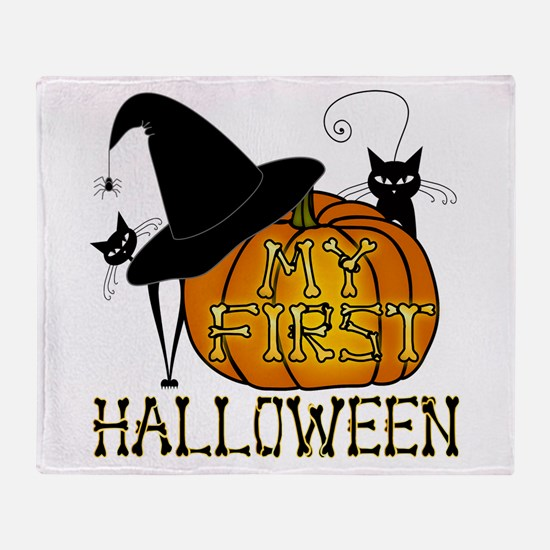 Trick-Or-Treat Throw Blanket
