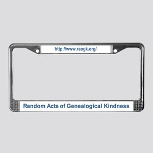 RAOGK License Plate Frame