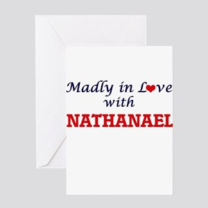 Madly in love with Nathanael Greeting Cards