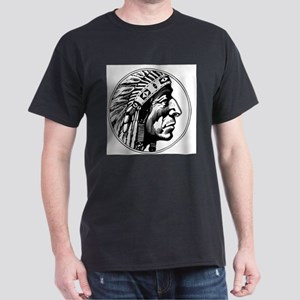 Indian Head Ash Grey T-Shirt