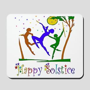 Winter Solstice Dancers Mousepad