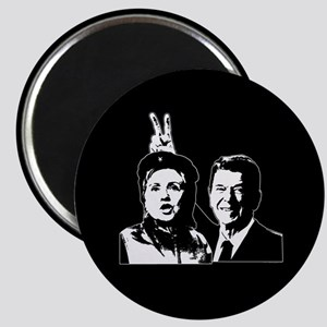 Ron gives Hillary the rabbit ea Magnet