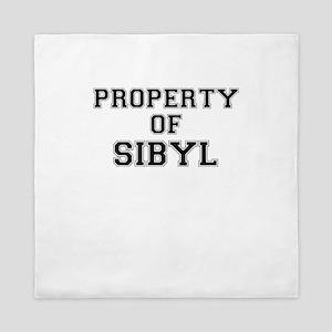 Property of SIBYL Queen Duvet
