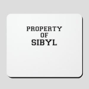 Property of SIBYL Mousepad