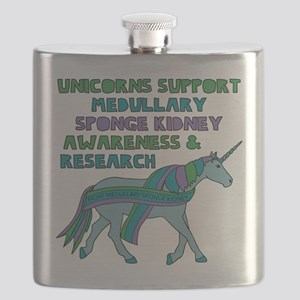 Unicorns Support Medullary sponge kidney Awa Flask