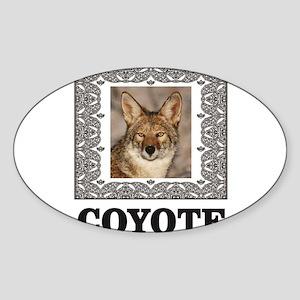 cube coyote Sticker