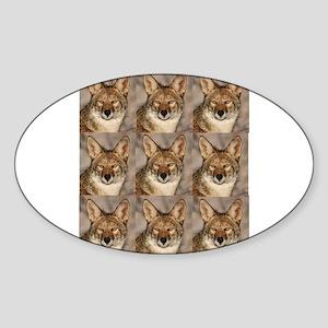 coyote cluster Sticker