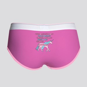 Unicorns Support Male Breast Can Women's Boy Brief