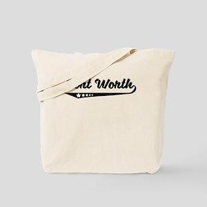 Fort Worth TX Retro Logo Tote Bag