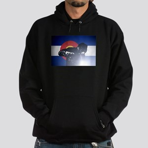 Welding: Colorado State Flag & Welde Hoodie (dark)