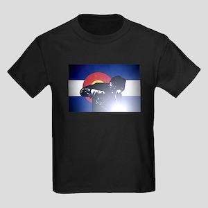 Welding: Colorado State Flag & W Kids Dark T-Shirt