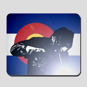 Welding: Colorado State Flag & Welder Mousepad