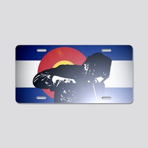 Welding: Colorado State Fla Aluminum License Plate