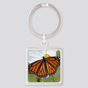Monarch Butterfly on Cosmos Keychains