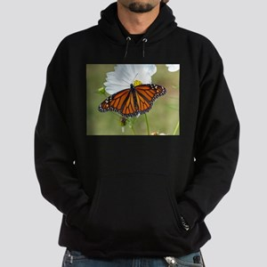 Monarch Butterfly on Cosmos Hoodie