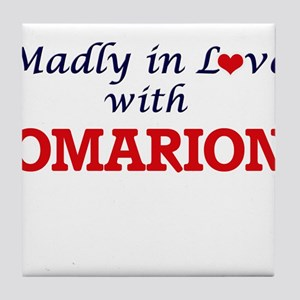 Madly in love with Omarion Tile Coaster