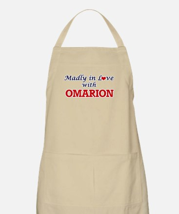 Madly in love with Omarion Apron