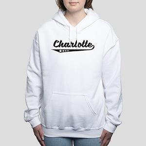 Charlotte nc gifts cafepress charlotte nc retro logo womens hooded sweatshirt negle Gallery