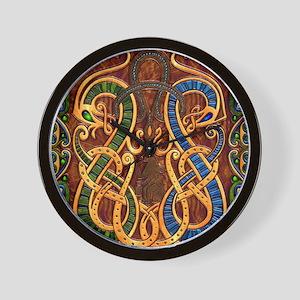 Harvest Moon's Viking Dragons Wall Clock