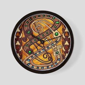 Harvest Moons Viking Dragons Wall Clock