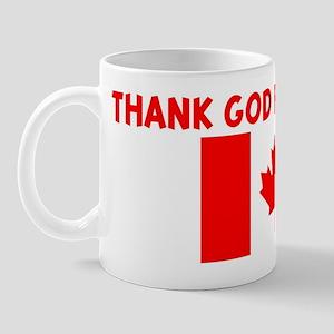 THANK GOD FOR CANADA Mug
