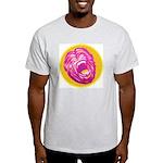 Screaming MONKEY Ash Grey T-Shirt
