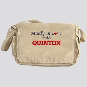 Madly in love with Quinton Messenger Bag
