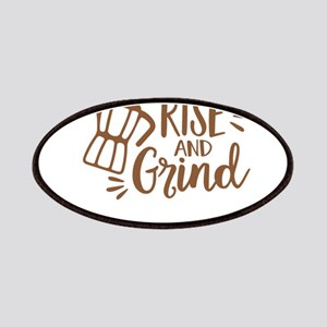 RISE AND GRIND Patch