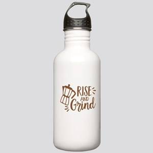 RISE AND GRIND Water Bottle