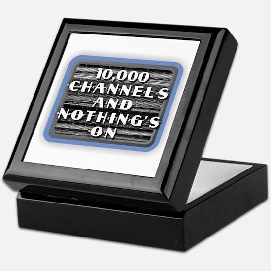 TV Nothing's On Keepsake Box