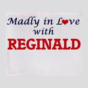 Madly in love with Reginald Throw Blanket