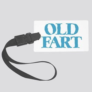 Old Fart Large Luggage Tag