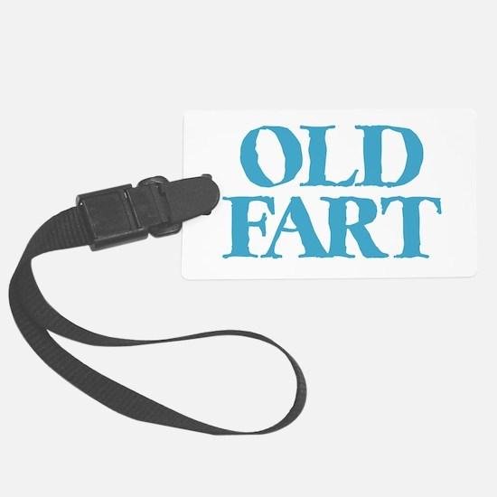 Old Fart Luggage Tag