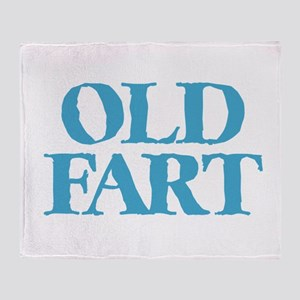 Old Fart Throw Blanket